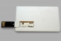 Печать полноцветная (CMYK) на USB-визитке (одна сторона)