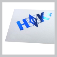 Фольгирование визитной карточки