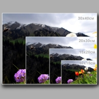Печать фотографий с негативов и файлов (мокрый процесс)