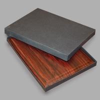 Коробка для плакетки А4 формата из дизайнерского картона