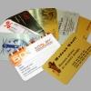 Печать полноцветная (CMYK) пластиковых карт с одной стороны