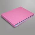 Фотоальбом 20х15 см (розовый)