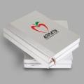 Печать полноцветная (CMYK) на альбомах, ежедневниках, блокнотах (область печати более 50кв.см.)