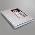 Печать полноцветная с использованием белого цвета (CMYK+W) на альбомах, ежедневниках, блокнотах (область печати более 50кв.см.)