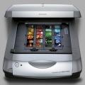 Сканирование слайдов в рамках на слайд-сканере с разрешением 2400 pix на дюйм в формате .jpg или .tiff (один кадр)