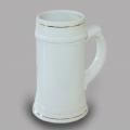 Белая кружка для пива