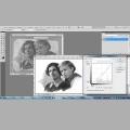 04 Редактирование отсканированных фото с удалением значительного кол-ва царапин, пятен, затёртостей и исправлением цветового баланса (одно фото)